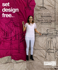 Set Design Free - Fashionista - 2016 -