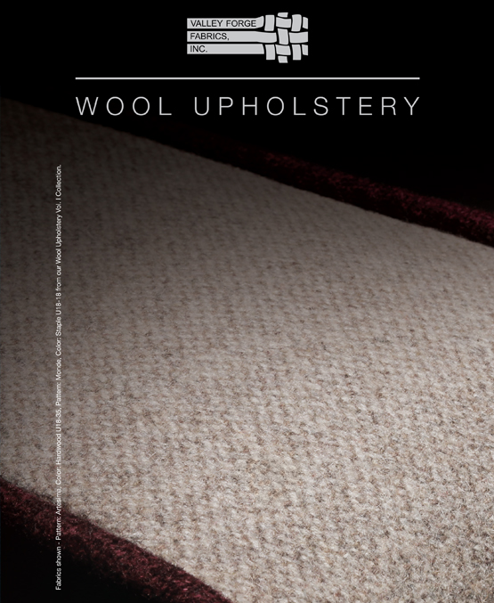 Wool Upholstery Vol. I Collection - 2016 -