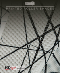 Printed Roller Shades - 2016 -